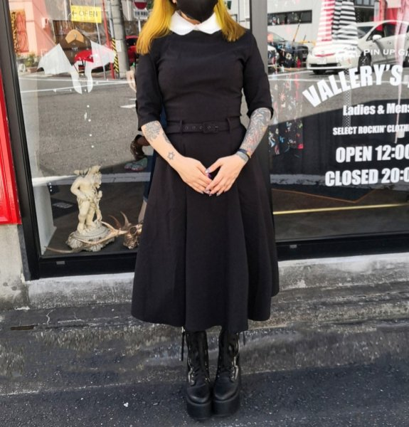 <img class='new_mark_img1' src='https://img.shop-pro.jp/img/new/icons11.gif' style='border:none;display:inline;margin:0px;padding:0px;width:auto;' />【Collectif】Mainline Winona Swing Dress