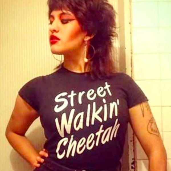 <img class='new_mark_img1' src='https://img.shop-pro.jp/img/new/icons11.gif' style='border:none;display:inline;margin:0px;padding:0px;width:auto;' />【ROCK ROLL REPEAT】Street Walkin' Cheetah Unisex Tee