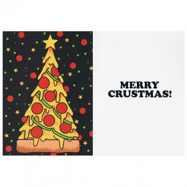 <img class='new_mark_img1' src='https://img.shop-pro.jp/img/new/icons11.gif' style='border:none;display:inline;margin:0px;padding:0px;width:auto;' />【SOURPUSS】Christmas Card Love pizza クリスマスカード/ピザ