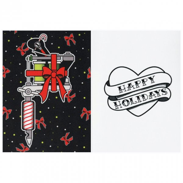 <img class='new_mark_img1' src='https://img.shop-pro.jp/img/new/icons11.gif' style='border:none;display:inline;margin:0px;padding:0px;width:auto;' />【SOURPUSS】 Christmas Card tattoo machine  クリスマスカード/タトゥーマシーン