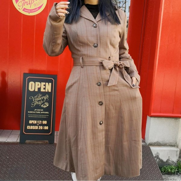 <img class='new_mark_img1' src='https://img.shop-pro.jp/img/new/icons11.gif' style='border:none;display:inline;margin:0px;padding:0px;width:auto;' />collectif】Mainline Nala Herringbone Coat