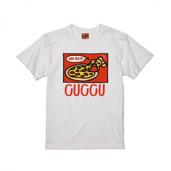 <img class='new_mark_img1' src='https://img.shop-pro.jp/img/new/icons1.gif' style='border:none;display:inline;margin:0px;padding:0px;width:auto;' />【Cuccu】Cuccu Pizza Logo ss T-shirt