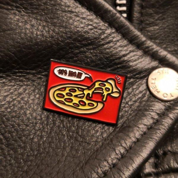 【Cuccu】Cuccu Pizza Logo pins