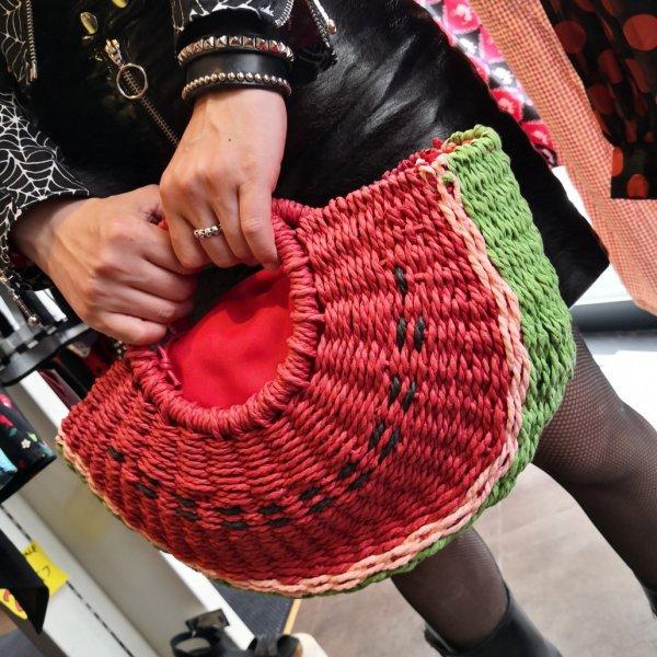 【SERECT】watermelon Handbag スイカバスケットバッグ