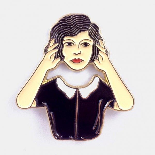 【Badaboöm Studio】Headless Woman Pin ヘッドレスガールピンバッジ