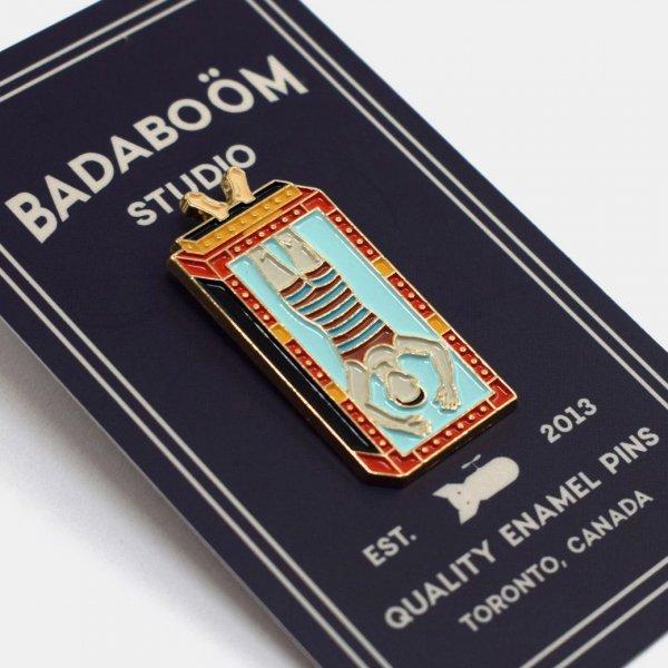 【Badaboöm Studio】Houdini Magic Pin フーディーニマジックピンバッジ