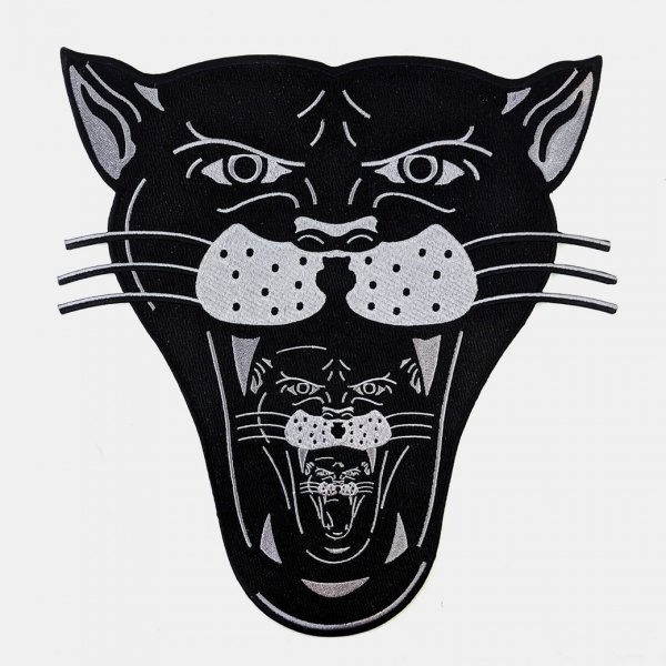 <img class='new_mark_img1' src='https://img.shop-pro.jp/img/new/icons1.gif' style='border:none;display:inline;margin:0px;padding:0px;width:auto;' />【Badaboo&#776;m Studio】Infinity Panther Large Back Patch ラージサイズブラックパンサーパッチ