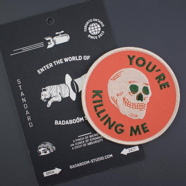 【Badaboöm Studio】You're killing me Patch キリングミースカルパッチ