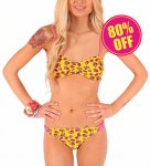 <img class='new_mark_img1' src='https://img.shop-pro.jp/img/new/icons24.gif' style='border:none;display:inline;margin:0px;padding:0px;width:auto;' />【IRON FIST】Scary Prairie Bikini Set Yellow(サイズ:S/日本サイズ7号程度)