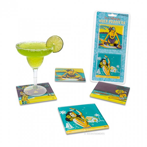 <img class='new_mark_img1' src='https://img.shop-pro.jp/img/new/icons41.gif' style='border:none;display:inline;margin:0px;padding:0px;width:auto;' />【Accoutrements】Glass Hula Coasters