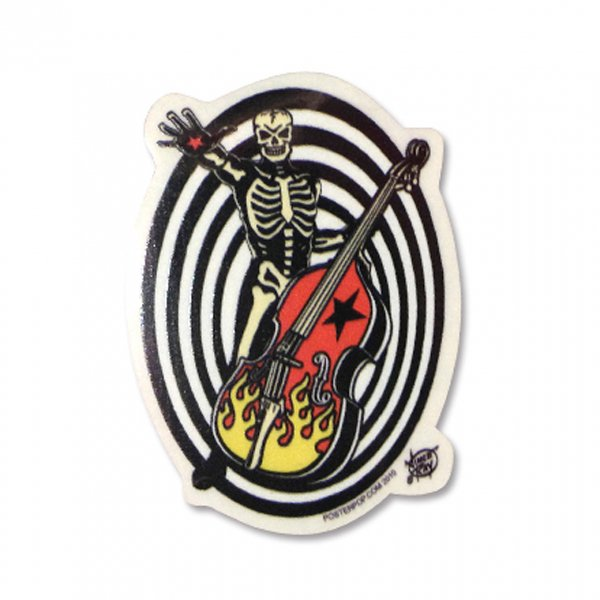 【Vince Ray】Skull&Woodbase Sticker