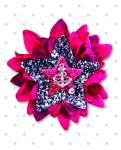 【Punk Up Bettie】Sailor Beauty Anchor and Stars Dahlia Hair Flower