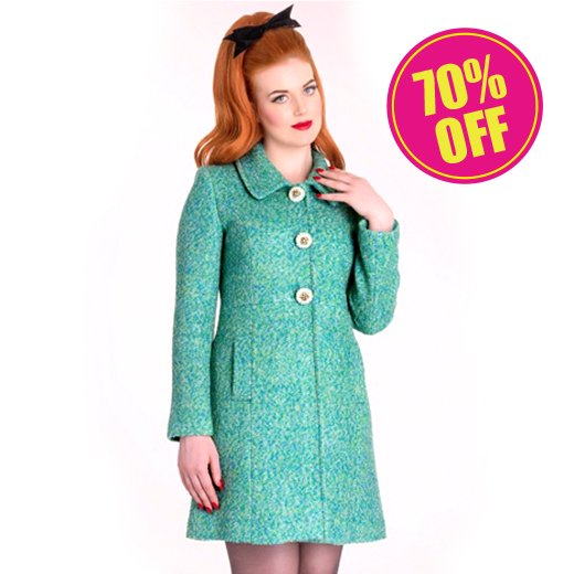 <img class='new_mark_img1' src='//img.shop-pro.jp/img/new/icons24.gif' style='border:none;display:inline;margin:0px;padding:0px;width:auto;' />【Hell Bunny】Lulu Coat