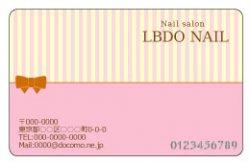 【PC_079】細ストライプ&リボン ピンク