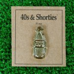 40s & SHORTIES (フォーティーズ&ショーティーズ) / SCRIBBLE BOTTLE PIN