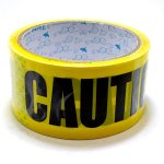 COUTION / PACKING TAPE / YELLOW