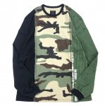10DEEP (10ディープ) / MANY WARS LONG SLEEVE TEE / MULTI