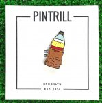 PINTRILL (ピントリル) / 40oz BEER IN A BAG PIN