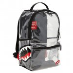 SPRAYGROUND (スプレーグラウンド) / 20/20 DOUBLE CARGO SIDE SHARK BACKPACK / CLEAR