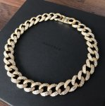 ADVANCE (アドヴァンス) / MIAMI CUBAN CHAIN NECKLACE (40cm) / GOLD