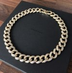 ADVANCE (アドヴァンス) / MIAMI CUBAN CHAIN NECKLACE (45cm) / GOLD