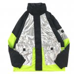 MISHKA (ミシカ) / MAW190547 NYLON JACKET / BLACK×SILVER×SAFETY GREEN