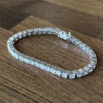 FEATHER PENDANTS (フェザーペンダント) / TENNIS BRACELET / WHITE GOLD