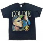 HOMAGE TEES (オマージュ・ティーズ) / GOLDIE TEE / BLACK