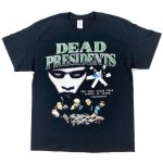 <img class='new_mark_img1' src='https://img.shop-pro.jp/img/new/icons24.gif' style='border:none;display:inline;margin:0px;padding:0px;width:auto;' />【40%OFF】 HOMAGE TEES (オマージュ・ティーズ) / DEAD PRESIDENTS TEE / BLACK ■定価:¥7,480→
