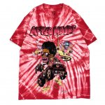 READYMADE × THE WEEKND (レディメイド×ザ・ウィークエンド) / TIE-DYE T-SHIRT / RED