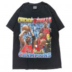 RETRO FINEST TEES (レトロ・ファイネスト・ティーズ) / CHICAGO BULLS T-SHIRT / BLACK