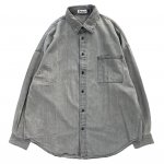 DEZZN (デジーン) / MAI DENIM SHIRT / BLACK