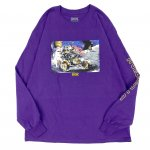DGK (ディージーケー) / ROVER LONG SLEEVE T-SHIRT / PURPLE