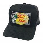 BASS PRO SHOPS × CHROME HEARTS INSPIRED TRUCKER HAT / BLACK