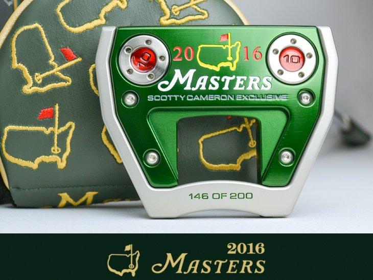 スコッティキャメロン 限定パター 2016 Masters Exclusive Futura X7M マスターズ  [ 146 of 200 ]