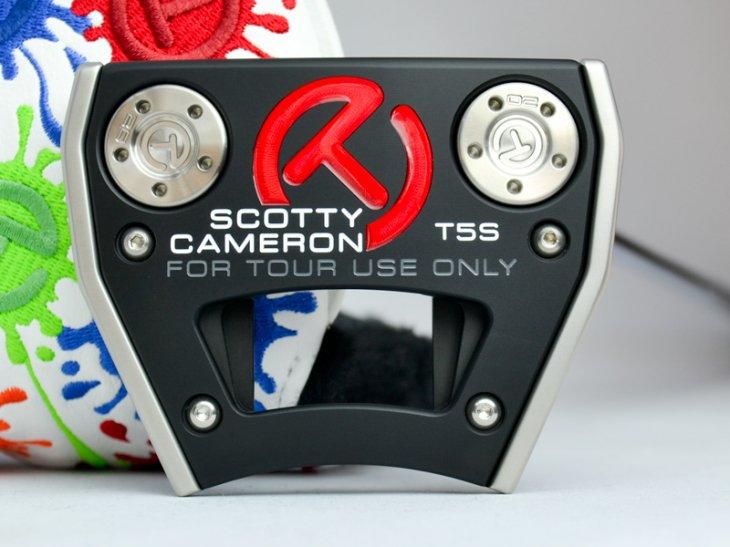スコッティキャメロン ツアーパター TOUR FUTURA T5S ストレートシャフト