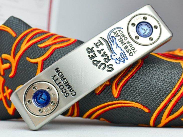 スコッティキャメロン ツアーパター スーパーラット II in SSS GSS inlay 25g タングステンソールウェイト ブ…