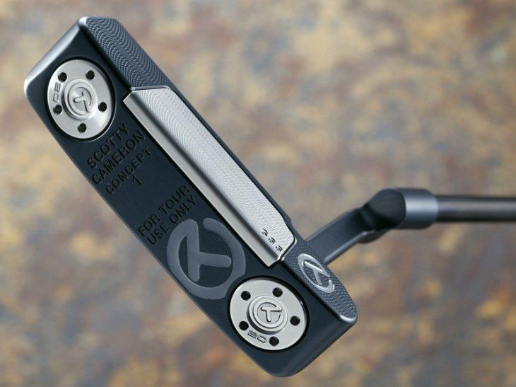 スコッティキャメロン ツアーパター Tour Concept 1 GSS Inlay Black & silver