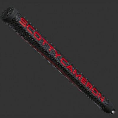 スコッティキャメロン グリップ マタドール [ブラック&レッド&ゴールド / ミッドサイズ ] Black Red Gold Matador Medium