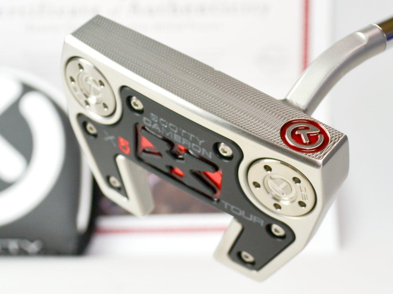 スコッティキャメロン ツアーパター FUTURA X5 SSS welded 2.5 neck PROTOTYPE