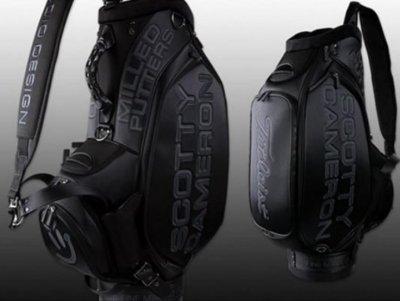 スコッティキャメロン 2013 Milled Putters GO GETTER  Staff Bag - Black/Gray