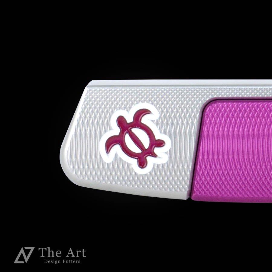 スコッティキャメロン カスタムパター ニューポート2 [Lucky HONU] [M] with クローバー 20g ウェイト ピンク&ピンク