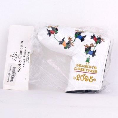 レア!!スコッティキャメロン 2005年 SEASON'S GREETINGS Happy Holidays ヘッドカバー