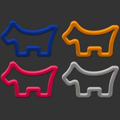 スコッティキャメロン SCOTTY DOG ボ−ルマーカー 4ピース 4カラーセット