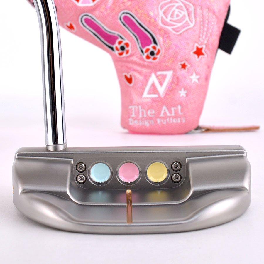 スコッティキャメロン カスタムパター ファストバック [Unicorn] ピンクアルマイト パステルカラー