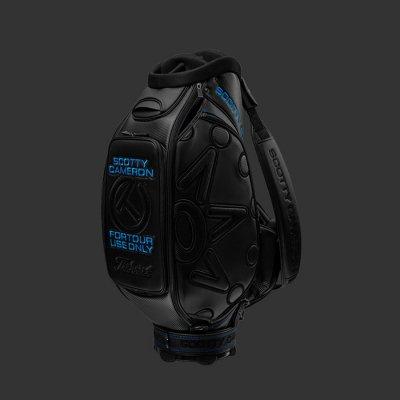 スコッティキャメロン 2019 サークルT Black in Black スタッフバック フルセット