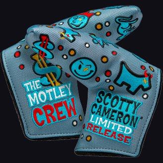 スコッティキャメロン ヘッドカバー カスタムショップ 2018 リミテッド モトリークルー Motley Crew [スタンダード]