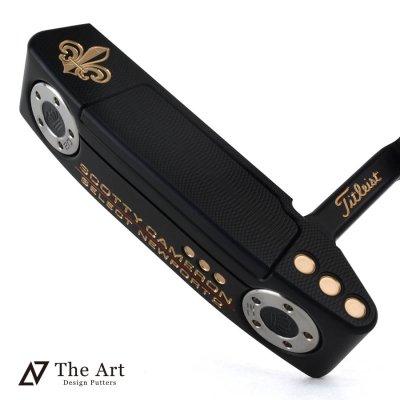 スコッティキャメロン カスタムパター ニューポート2 [Royal] ブラックメッキ サウンドスロット