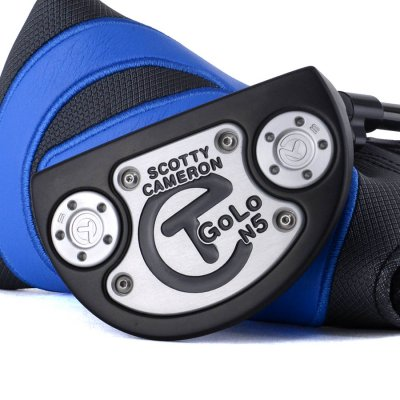 スコッティキャメロン ツアーパターGOLO N5 Tour Black with 5g circle T weights