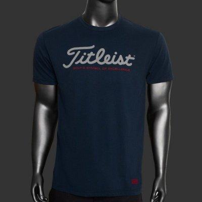 スコッティキャメロン Tシャツ Titleist GOLF'S SYMBOL OF EXCELLENCE [ ネイビー ]